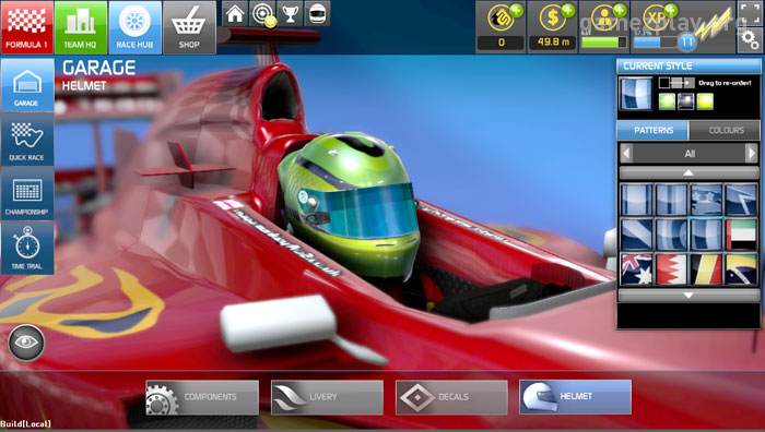 customise your car and create your own racing team with f1 online the game online. Black Bedroom Furniture Sets. Home Design Ideas