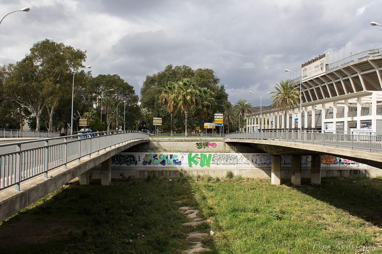 Puentes del guadalmedina i mis fotos de m laga for Oficinas de correos en malaga capital
