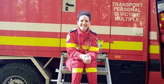 VIDEO: Alina Cigoli, medic SMURD, un alt erou minunat...