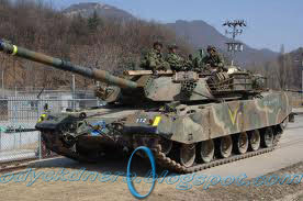 Tank K1 88 South Korea
