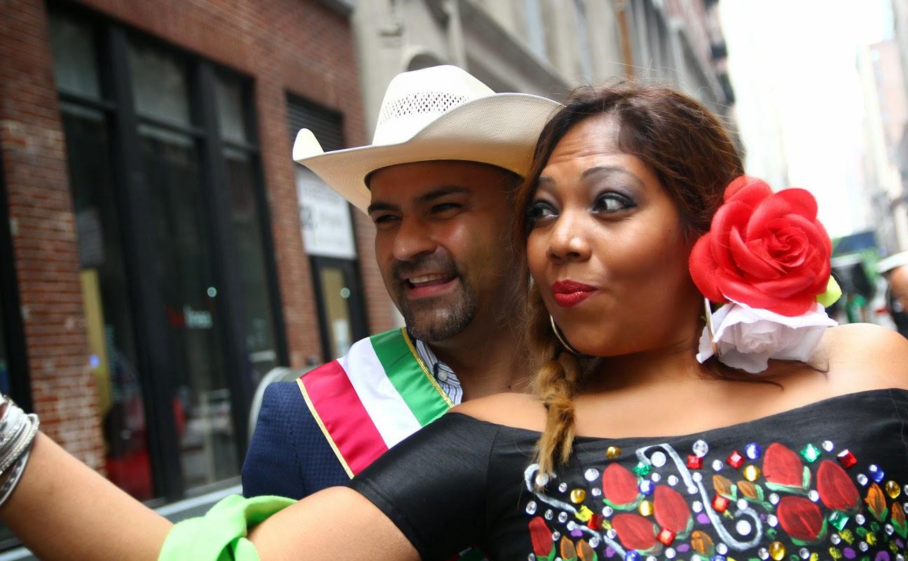 invitados especiales del desfile de Manhattan, New York
