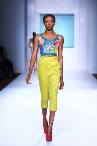Nigerian-design-MTN lagos fashion and Design week 2012: Iconic invanity-pagne-africain-