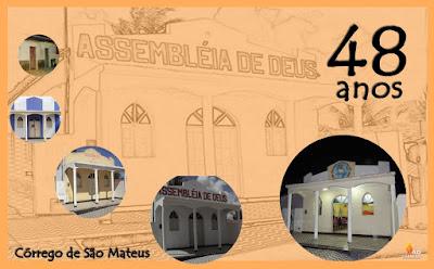 Assembleia de Deus comemora 48 anos