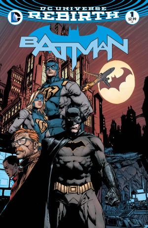 BATMAN REBIRTH