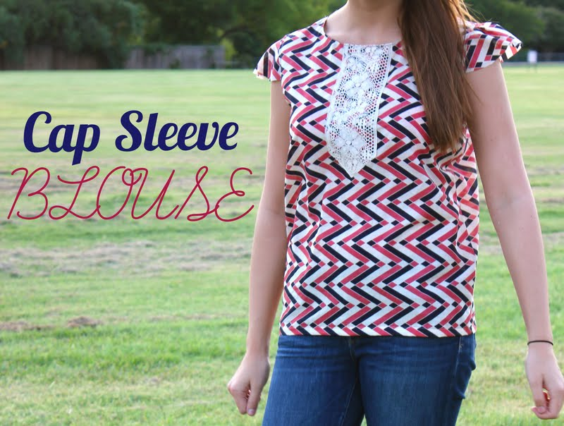 Cap Sleeve Blouse: a tutorial | Sweet Verbena