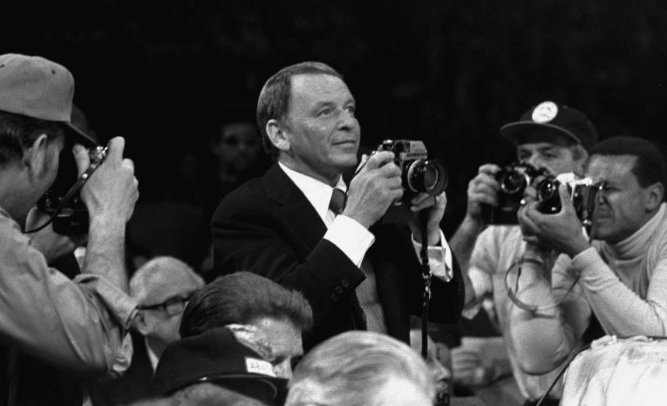 SINATRA as Photographer