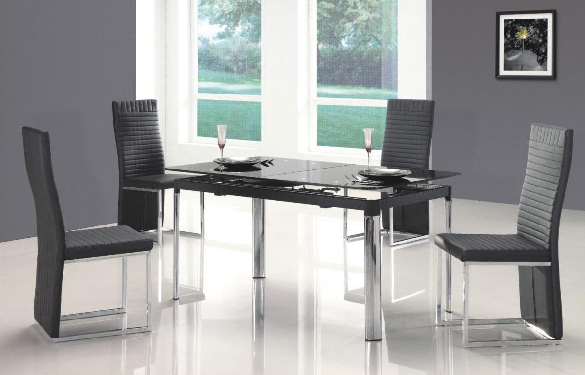 Inspirational of home interiors and garden modern dining tables from inmod - Modelos de sillas de comedor modernas ...