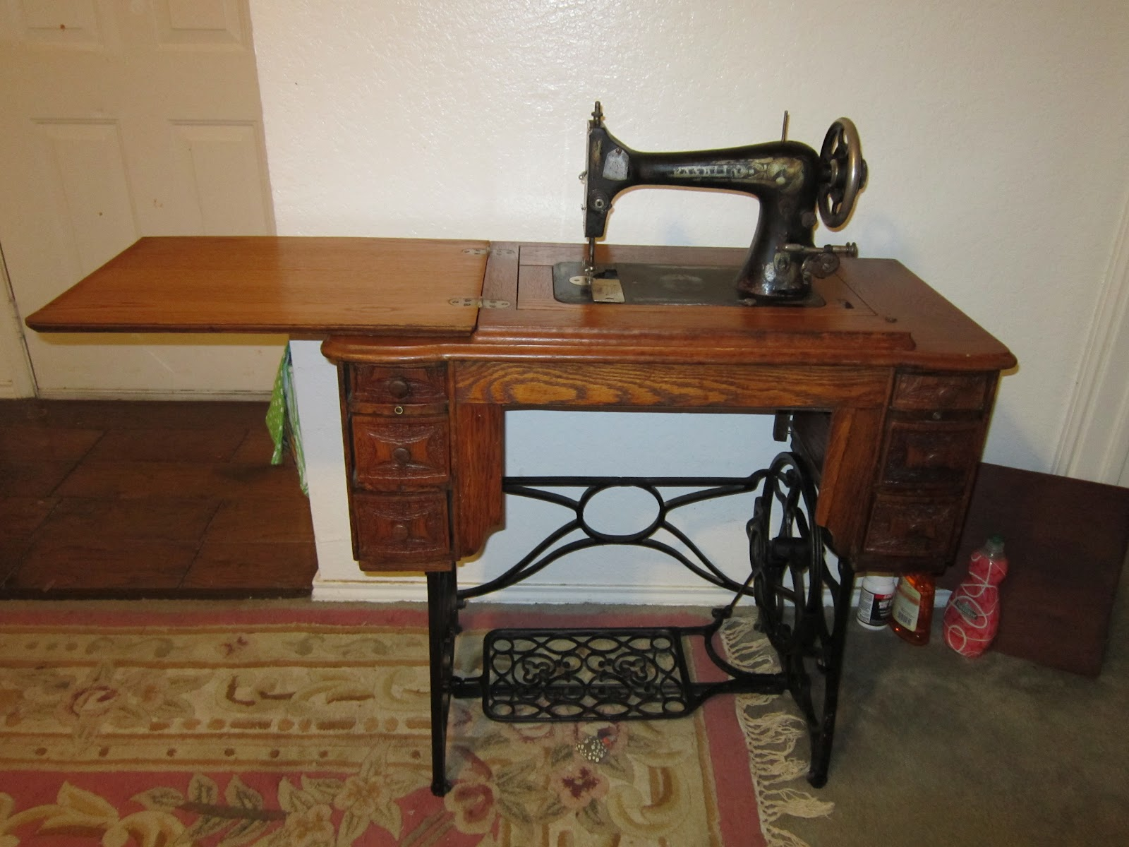 Missy 39 S Homemaking Adventures Cleaning My Treadle