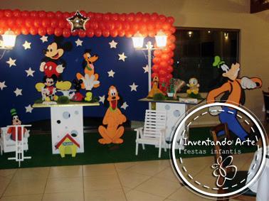 festa infantil ponta grossa mickey