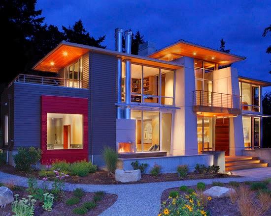 Desain Rumah Tropis Minimalis Modern