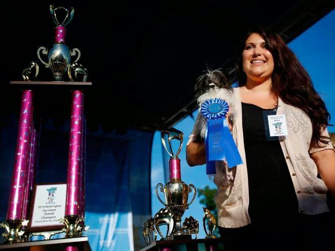 cão mais feio do mundo foi eleito em um concurso em Petaluma