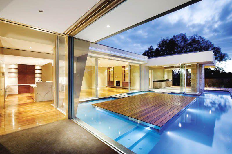 Casa canterbury canny arquitectura melbourne australia arquitexs - Casas con piscina interior ...