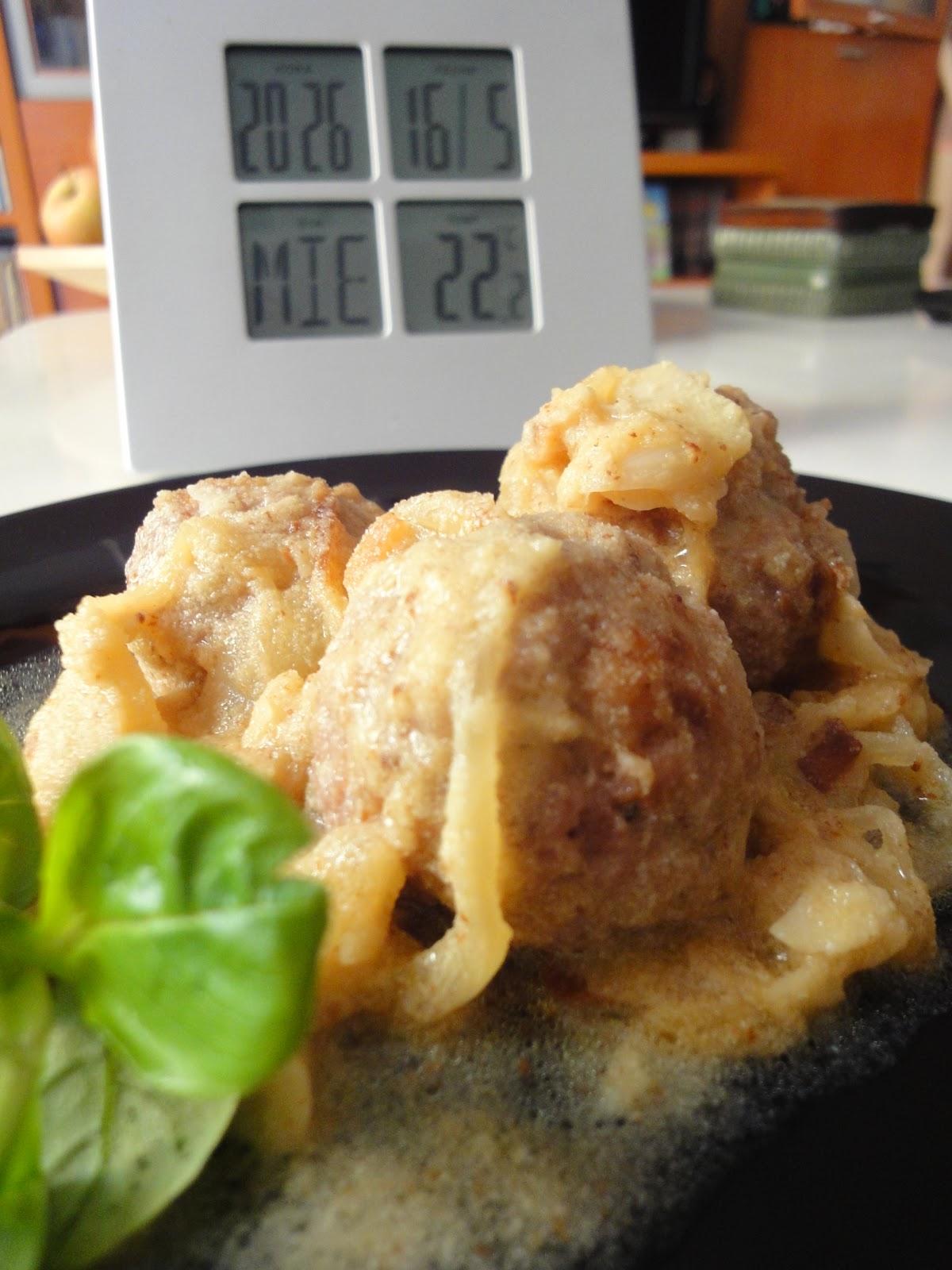 Clases de cocina zaragoza alb ndigas con salsa de almendras - Cursos de cocina zaragoza ...