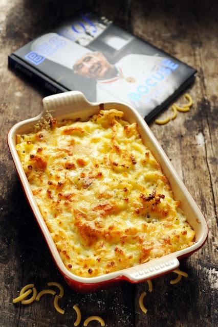Et si Paul Bocuse avait même inventé le Mac'n'Cheese ? Le Best Of Paul Bocuse et le gratin de macaronis de Mr Paul à ma manière !
