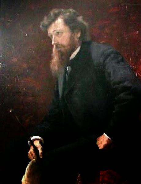 John Joseph Enneking (1841-1916) by Isaac Henry Caliga (1857-1934)