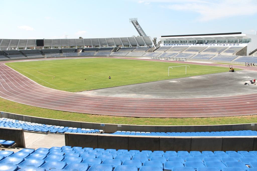 Deporpuebla lobos buap listo para arrancar una nueva for Puerta 9 estadio universitario