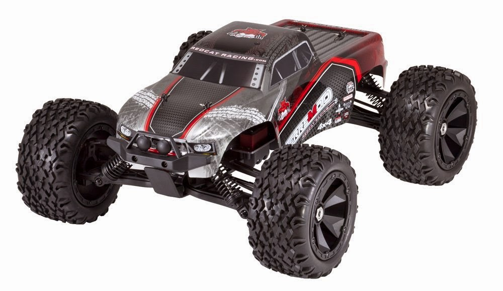Buy Redcat Racing Terremoto Brushless Electric Monster Truck with 2.4GHz Remote Control 1/8 Scale Lowest Discount Price Now
