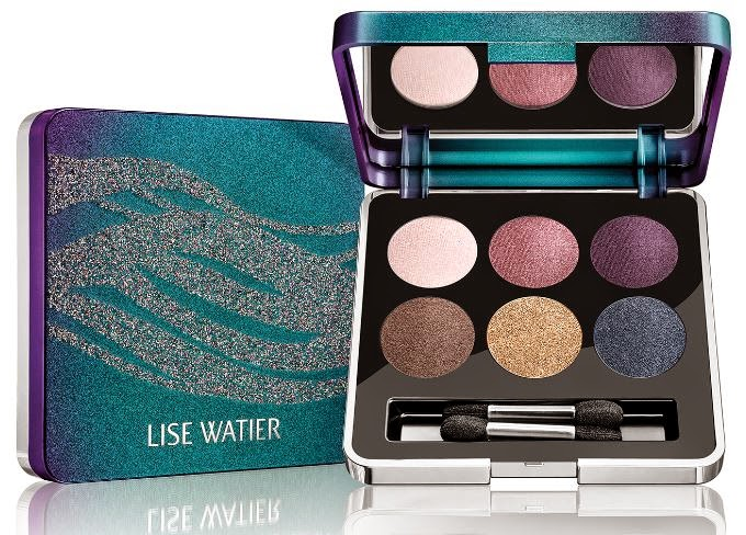 Lise Watier: Aurora Winter 2014 Collection, Aurora Eyeshadow Palette