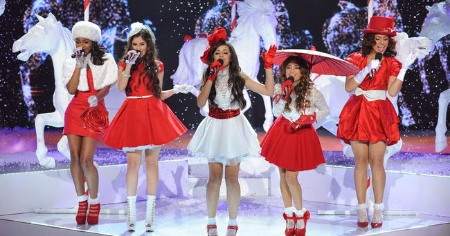 """English is FUNtastic: Christmas song: """"Christmas (Baby Please Come Home) """" by Fifth Harmony ..."""