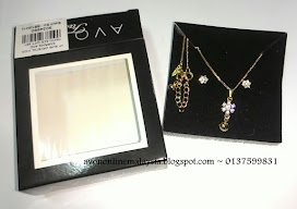Suri Crystal Kids Earring & Necklace Set.