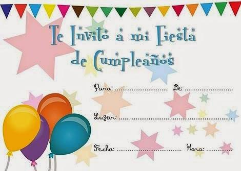 Tarjetas gratis para imprimir de Cumpleaños | Frases de Cumpleaños