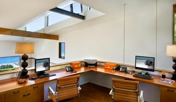 Oficinas para dos en casa colores en casa for Disenos de oficinas en casa