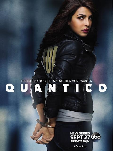 Quantico, Poster, TV Series, Priyanka Chopra