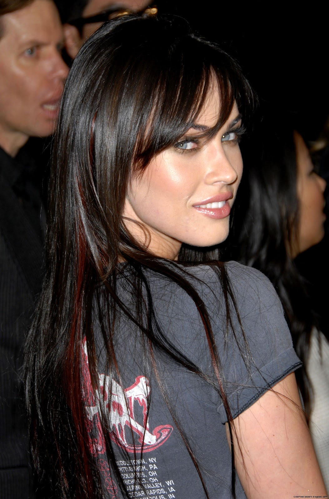 Megan Fox Hair 2014