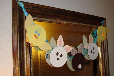 easter paper craft: chicks & bunnies tutorial