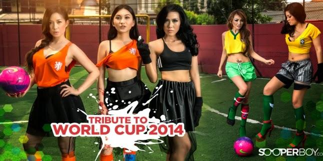 foto ngentot memek  bugil mesum Video Aksi Model Seksi Indonesia Dukung Piala Dunia 2014