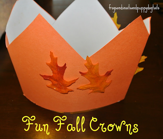 Fall crowns fit for a king or queen
