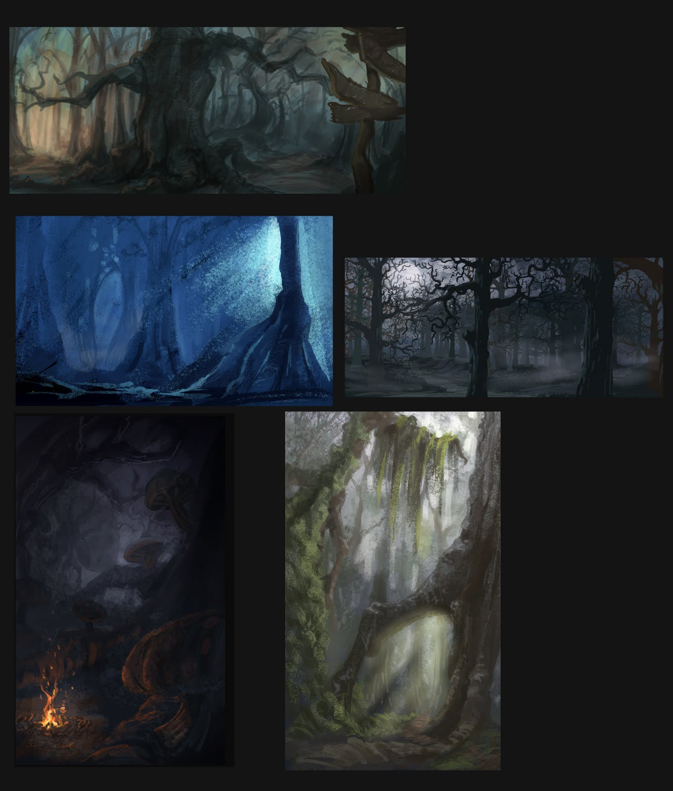 Hansel and gretel the haunted forest for Haunted woods ideas