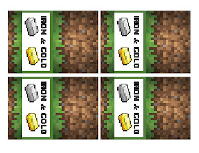Minecraft favor labels