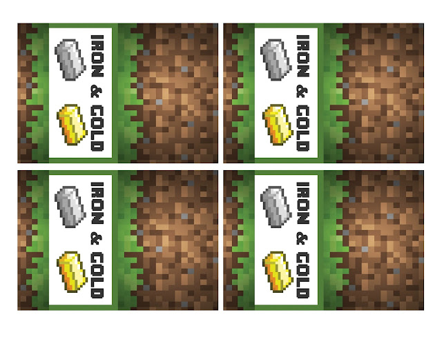 Minecraft favor labels