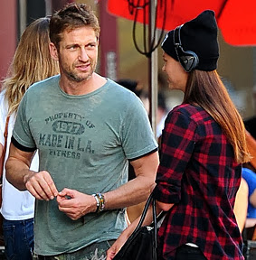 Gerard Butler Meets Up with Gal Pal in the Meatpacking District