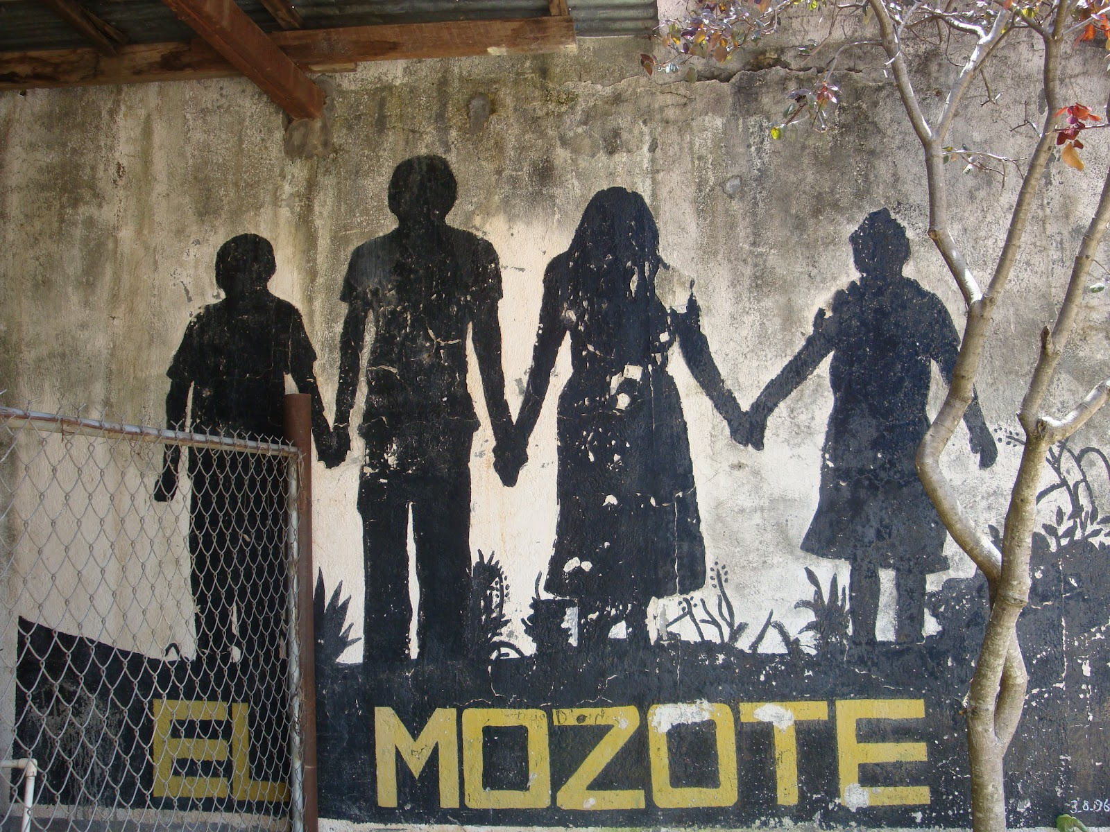 the massacre in el mozote El mozote, el salvador: except for a house with its walls riddled with holes made by bursts of machine gun fire, nobody would say that the quiet salvadoran village of el mozote was the scene of.