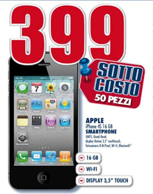Sottocosto imperdibile smartphone Apple