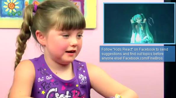 youtube影片 歐美看小朋友初音未來