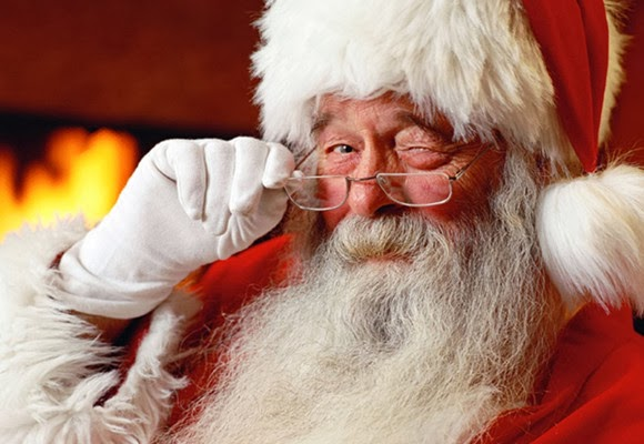 Rimless Glasses—Santa Claus' Choice