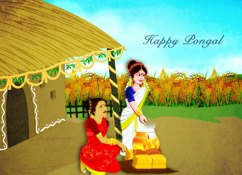 Happy Pongal 2016 SMS Quotes Wishes Messages Scraps
