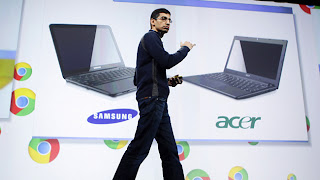 Acer and Samsung make first Google Chromebooks