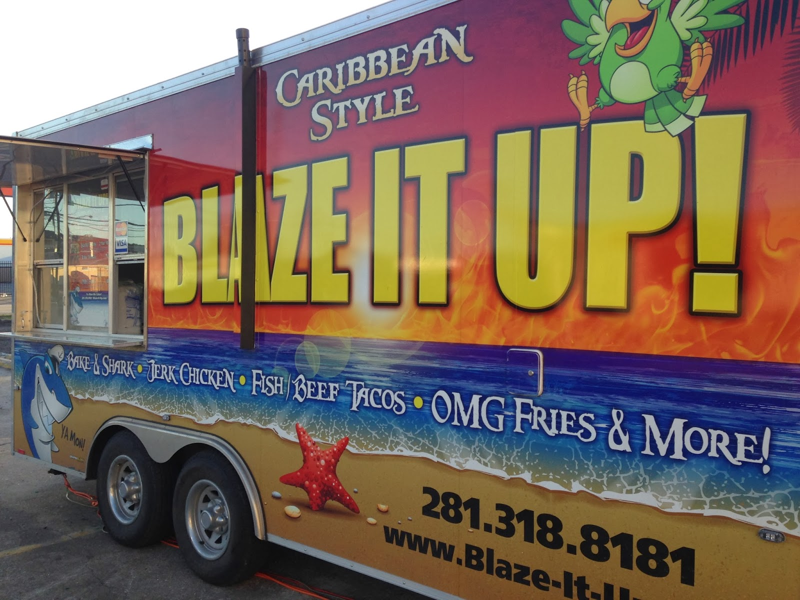 Blaze it Up!, Food Truck Houston TX