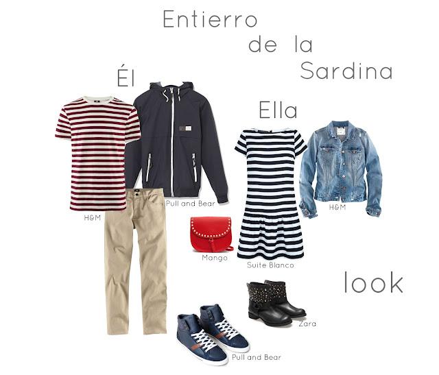 Look Entierro Sardina