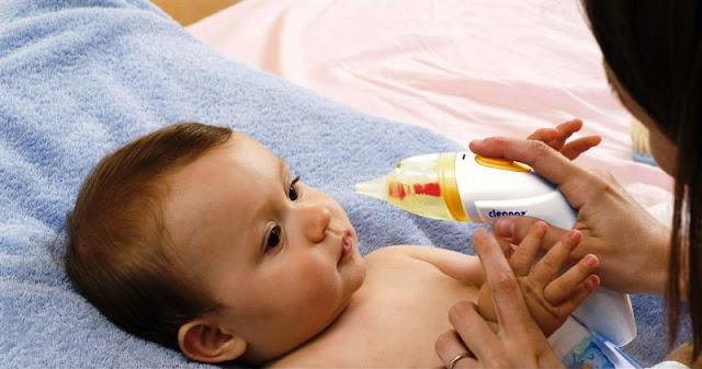 cách chữa sổ mũi cho trẻ sơ sinh