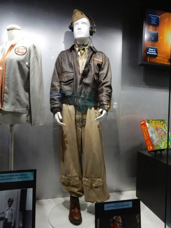 Jack O'Connell Unbroken Louis Zamperini Bombardier costume
