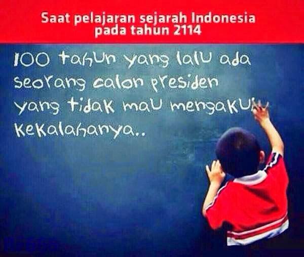 Saat Pelajaran Sejarah Indonesia pada Tahun 2114