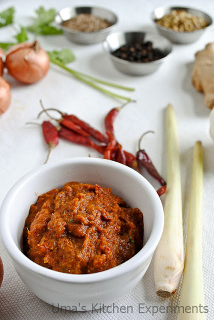 Thai Red Curry Paste ~ My Kitchen Experiments