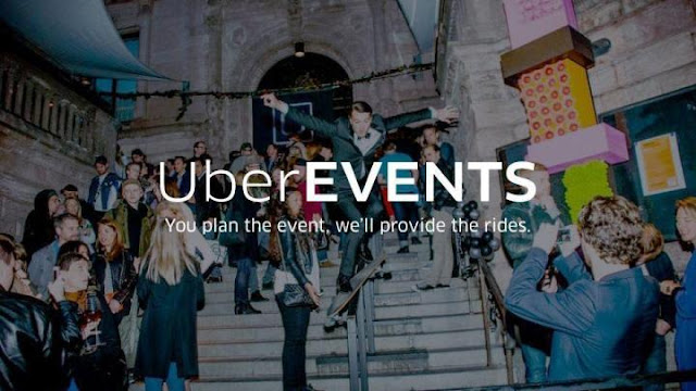 UberEVENTS lets party planners send guests free or discounted Uber rides