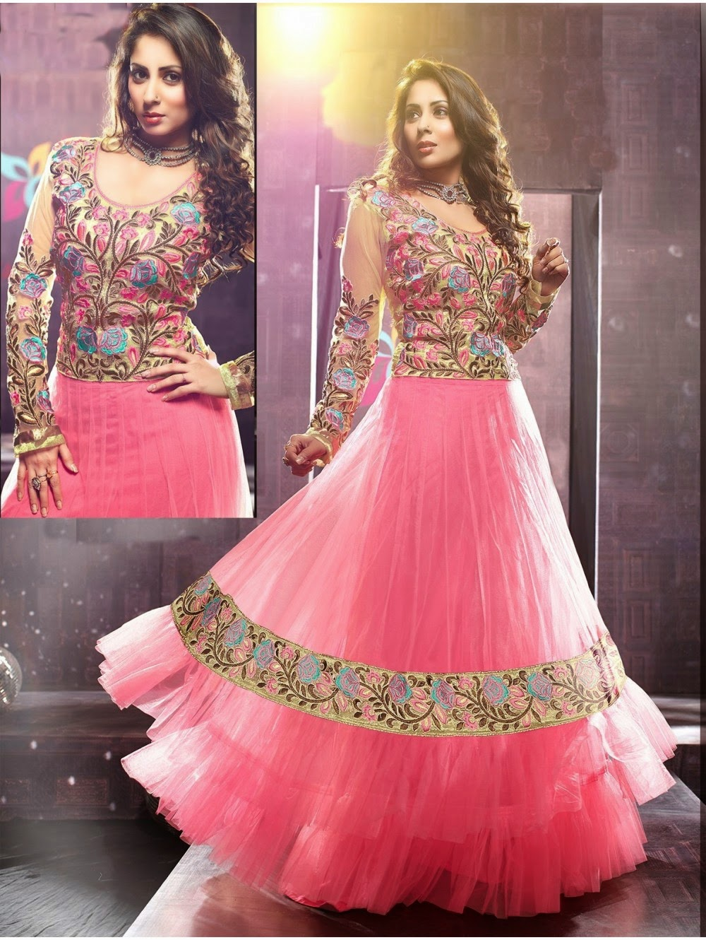 Indian Fashion Hub: Different Types of Anarkali Anarkali Styles ...