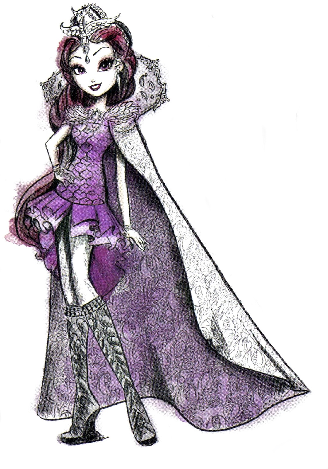 It is a photo of Zany Picture of Ever After High